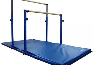 Gymnastics Bar with Mat Gymnastics Adjustable Horizontal Bars Parallel Bars