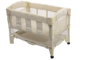 Half Baby Crib attached to Bed Amazon Com Arm S Reach Euro Mini Arc Co Sleeper Bedside Bassinet