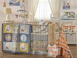 Half Baby Crib attached to Bed Crib Bedding Set Baby Living Woods Wildlife Rustic Boy Girl Nursery