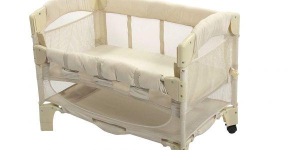 Half Crib that attaches to Bed Amazon Com Arm S Reach Euro Mini Arc Co Sleeper Bedside Bassinet
