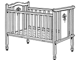 Half Crib that Connects to Bed Infant Bed Wikipedia