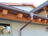 Half Round Vs K Style Gutters Blog Concord Sheet Metal Copper Gutters Copper Downspout