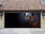 Halloween Garage Door Covers 3d Garage Door Covers Banner Halloween Decor Pumpkin