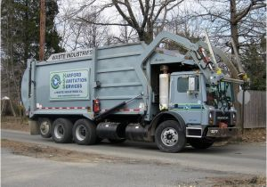 Harford County Trash Pickup Harford Sanitation Services Waste Industries 2009 Mack