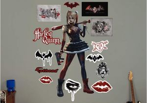 Harley Quinn Bedroom Ideas Harley Quinn Arkham Knight Wall Decal Shop Fathead for