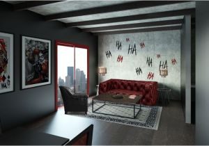 Harley Quinn Bedroom Ideas Living Room Harley Quinn theme Get Your Room Designed