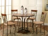 Harlow 5 Piece Pub Set Cramco Inc Harlow 5 Piece Counter Height Dining Set