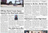 Harris Carpet Cleaning Stafford Va August 10 2011 fort Bend Community Newspaper for Sugar Land