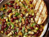 Healthy Food Stores Reno Borlotti Bean and Mussel Stew with Zucchini and Grilled Bread Wsj