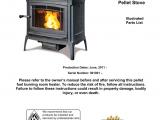 Hearthstone Wood Stove Parts Heritage Pellet 8091 Illustrated Parts List Manualzz Com