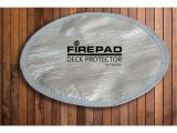 Heat Shield for Fire Pit On Deck Deck Protector Fire Pit Heat Shield Outdoor Fire Pits