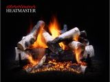 Heatmaster Vent Free Gas Logs Reviews Fully Vented Gas Log Set aspen White Birch Heritage