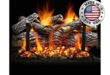 Heatmaster Vent Free Gas Logs Reviews Live Oak Gas Log Set by Heatmaster Shopfireside Grills