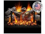 Heatmaster Vent Free Gas Logs Reviews Live Oak Gas Log Set by Heatmaster Shopfireside Grills