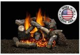 Heatmaster Vent Free Gas Logs Reviews Rugged Timber Gas Log Set by Heatmaster Shopfireside