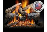 Heatmaster Vent Free Gas Logs Reviews Santa Fe Black Cherry Gas Log Set by Heatmaster