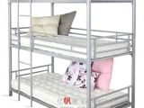 Heavy-duty Metal Bunk Beds for Adults Modern Heavy Duty Adult Steel Triple Metal Loft Bunk Beds