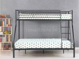 Heavy Duty Metal Twin Over Full Bunk Beds Ikayaa Twin Over Full Bunk Metal Bed Frame Bedroom Dorm