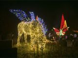 Holiday Light Show atlanta Botanical Gardens Beautiful Garden Lights atlanta Botanical Garden On New Botanical
