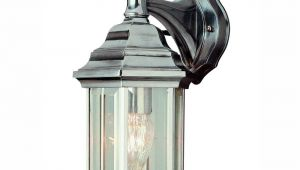 Home Depot Outdoor Coach Lights Bel Air Lighting Pentagon 1 Light Brushed Nickel Outdoor