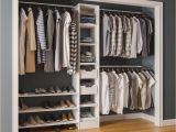 Home Depot Shoe Storage Cabinets Modifi 15 In D X 105 In W X 84 In H Melamine Reach In Closet