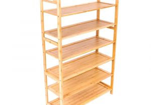 Home Depot Wire Shoe Racks Neu Home 2 Tier 8 Pair Shoe organizer In Mahogany 17081w the Home