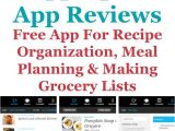Home Storage solutions 101 Pepperplate App Review for Recipes Meal Planning Making Grocery
