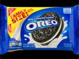 Honolulu Cookie Company Free Shipping oreo Cookies Family Size 19 1 Oz Walmart Com
