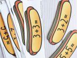 Hot Dog Holder Crossword Hot Dog Addition Cards the Stem Laboratory