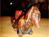 Hot Dog Holder Crossword Vintage Dachshund Dashound Doxie Weiner Hot Dog Pipe Stand