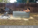 Hot Tub Designs and Layouts Homemade Modern Ep112 Diy Wood Fired Hot Tub
