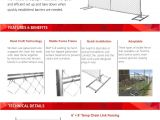 How to Install Chain Link Fence On Uneven Ground Temporary Chain Link Fence Catalog