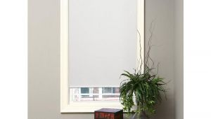 How to Lower Hampton Bay Cordless Blinds Hampton Bay White Cordless Room Darkening 6 Mil Vinyl Roller Shade