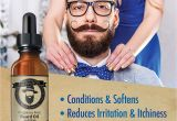 How to Make My Beard soft Home Remedies Amazon Com Flapwings Beard Oil Leave In Conditioner softener and
