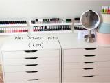 Ikea Alex Drawer Unit Dupe Bedroom Ikea Alex 9 Drawer Dupe Ikea Makeup organizer Scarf