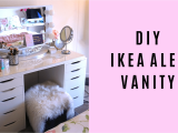 Ikea Alex Drawer Unit Dupe Diy Ikea Alex Vanity Blushing In Hollywood