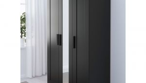 Ikea Brimnes Wardrobe with 3 Doors Black Ikea Brimnes Wardrobe with 3 Doors Adjustable Hinges Ensure that the