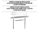 Ikea Dishwasher Cover Panel Instructions Ikea Iud8500bx1 User Manual Undercounter Dishwasher Manuals and