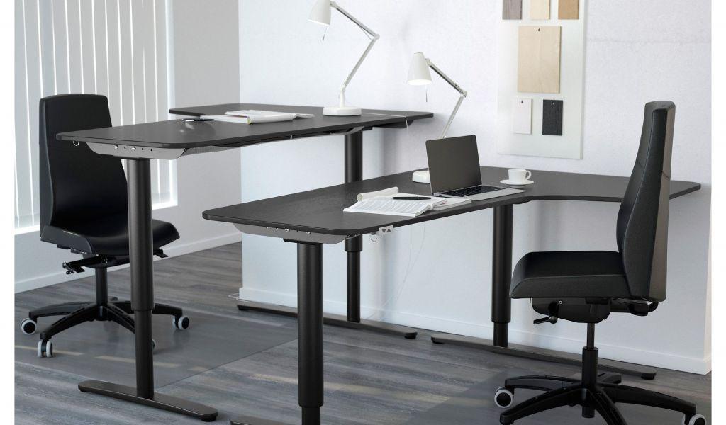 Ikea galant left corner desk assembly instructions bureau ikea