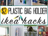 Ikea Grocery Bag Holder Ikea Plastic Bag Holder Hacks and Ideas