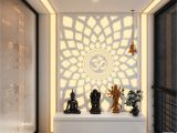 Ikea Hack – Diy Pooja Mandir A Hypnotic Aum Back Lit Panel In the Pooja Room Pooja Room