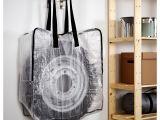 Ikea Plastic Grocery Bag Holder Dimpa Storage Bag Ikea