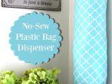 Ikea Plastic Grocery Bag Holder Plastic Bag Dispenser and Holder Diy Sewing Diy Plastic Bag