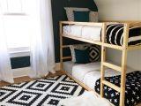 Ikea Stuva Bunk Bed Hack Ikea Kura Hack Kids Room Monochromatic Gender Neutral Kids Room