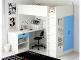 Ikea Stuva Bunk Bed Hack Stuva Loft Bed Combo W 1 Drawer 2 Doors White Blue 207x99x193 Cm