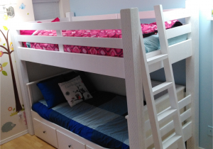 Ikea Stuva Loft Bed Hacks Custom Loft Bed Built to Wrap the Ikea Hemnes Daybed Kids Room