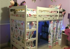 Ikea Stuva Loft Bed Hacks Ikea Hack Mydal Bunk Bed Into Loft with Bench Decorating Ikea