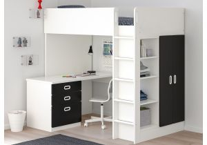 Ikea Stuva Loft Bed Hacks Ikea Stuva Fritids Loft Bed with 3 Drawers 2 Doors White In