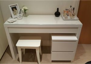Ikea Vanity Table with Mirror and Bench My Dressing Table Idea with Ikea Malm Dressing Table Stool and