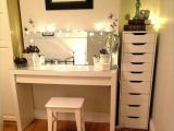 Ikea White Dressing Table with Mirror and Stool Diy Corner Makeup Vanity Images Home Ideas A O Pinterest